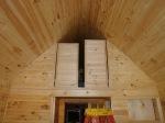 Loft closet doors.