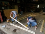 Starting the Floor Framing