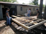 First Floor Frame Section