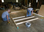 Building the Middle Section of the Floor Frame