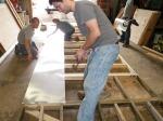 Beginning the Aluminum Flashing Installation