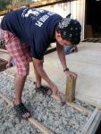 Placing the Floor Decking!