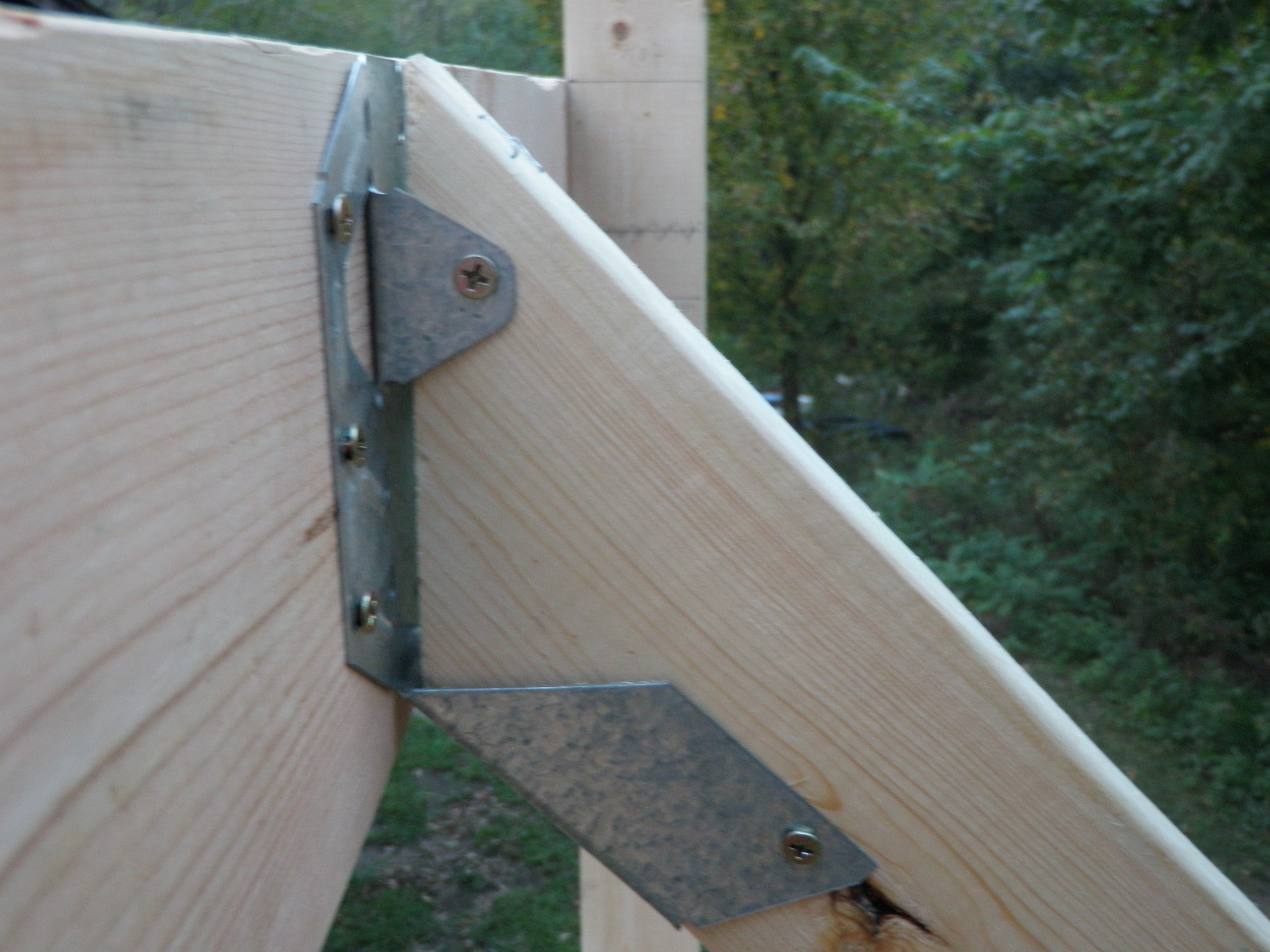 A Rafter Hanger In Action Built By Friends Evan Amp Gabby