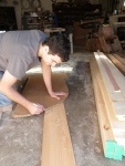 Kyle Klues: Trailer framing, Floor framing, Wall framing, Wall Sheathing, Siding, and Tongue Oil!