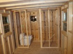 Bathroom Wall Framed!