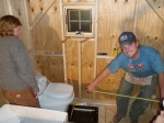 Laying out the Bathroom Dimensions