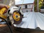 Metal cutting blade for the circular saw.