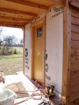 All last minute prep work done: Ready for siding!