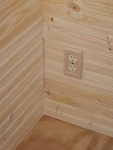 Outlet cover plate for the great room and loft areas...