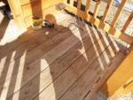 Deck Before Sanding