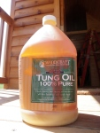 100% Pure Tung Oil by WoodCraft.