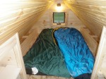 First 'camp out' in our Tiny House!