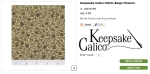 keepsake calico