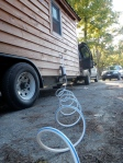 RV-specific potable water hose.